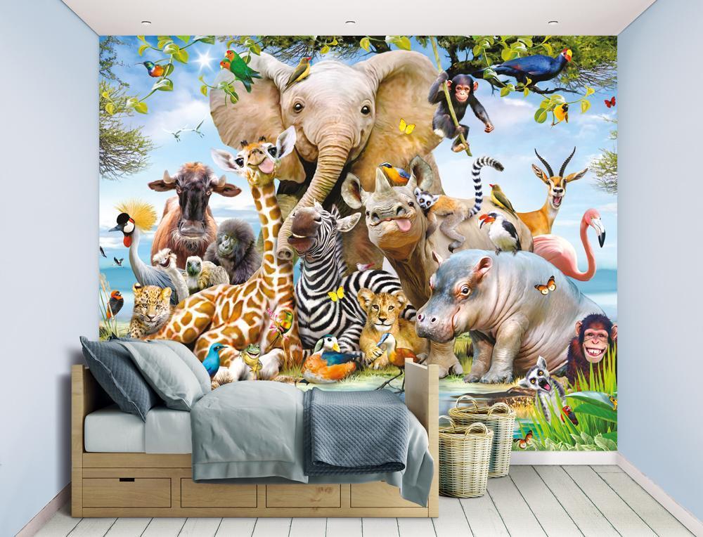 Jungle Safari tapet - Jungle Safari tapet