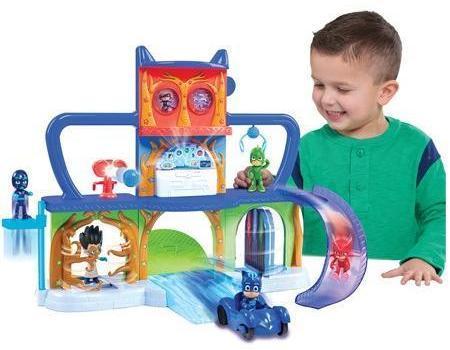 Image of PJ Masks Hovedkvarter legesæt - Pyjamasheltene legesæt 245600 (455-245600)