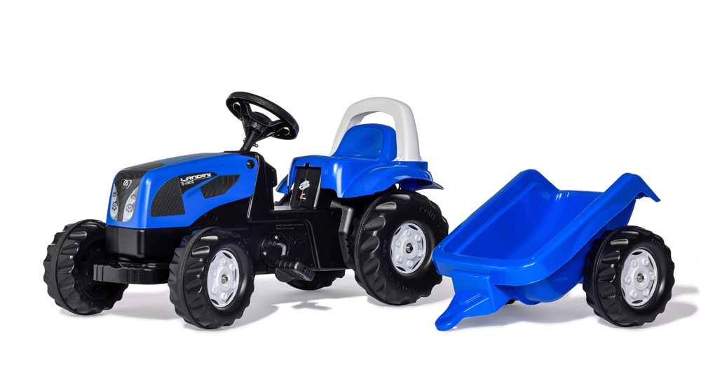 RollyKid Landini Traktor m / anhænger - RollyKid Landini Traktor m / anhænger