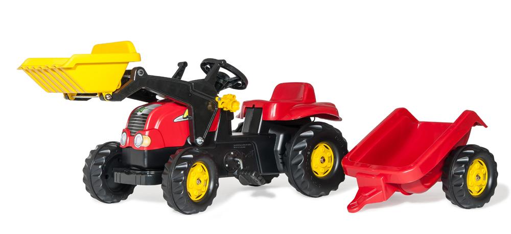 RollyKid-X Traktor med frontskovl - RollyKid-X Traktor med frontskovl