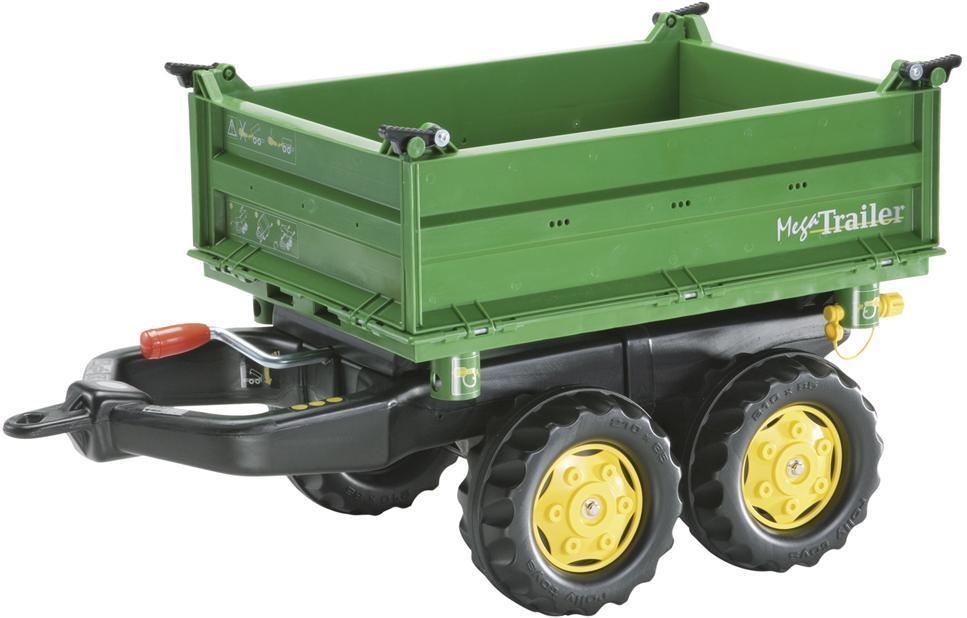 Image of Rolly Mega Trailer - Rolly Toys John Deere Grøn 122004 (52-122004)