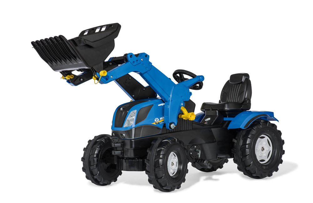 Image of Rollyfarmtrac New Holland - Rolly toys pedaltraktor 611256 (52-611256)