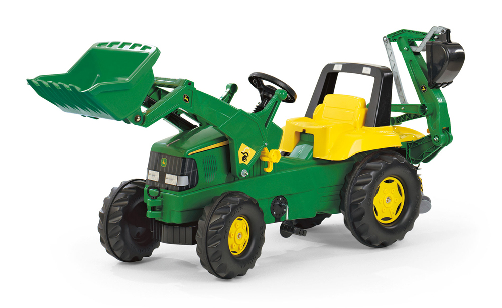 Image of   Rolly%20Junior%20John%20Deere%20Traktor - Rolly%20Junior%20John%20Deere%20Traktor