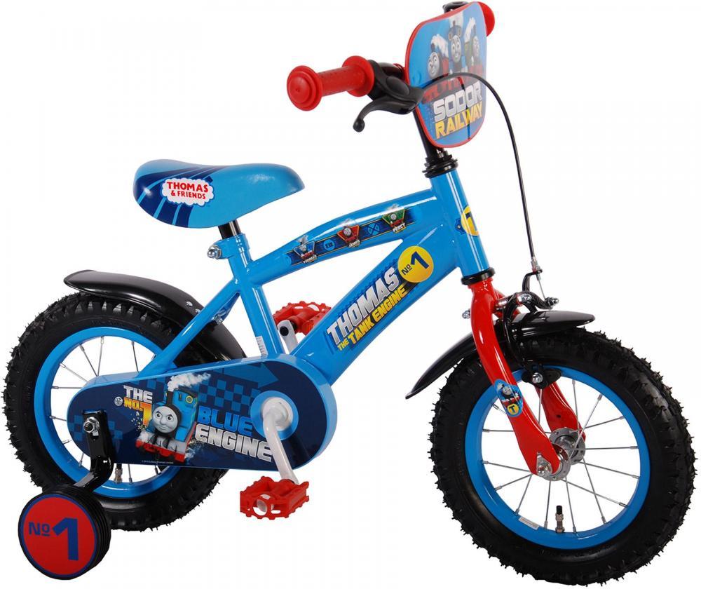 Thomas Tog børnecykel 12 tommer - Thomas Tog børnecykel 12 tommer