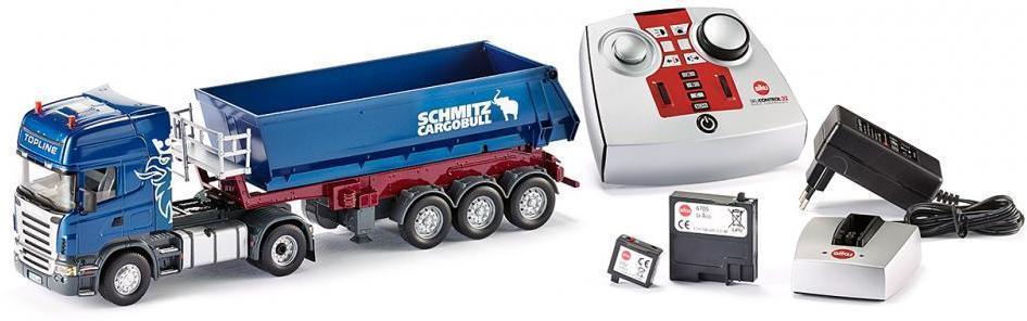 Image of Control Scania med tip trailer - Siku RC Lastbil 6725 (70-072500)