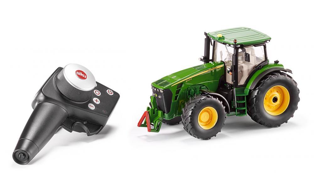 Image of SIKU John Deere Kontrol med lys - Siku RC traktor 6881 (70-088100)