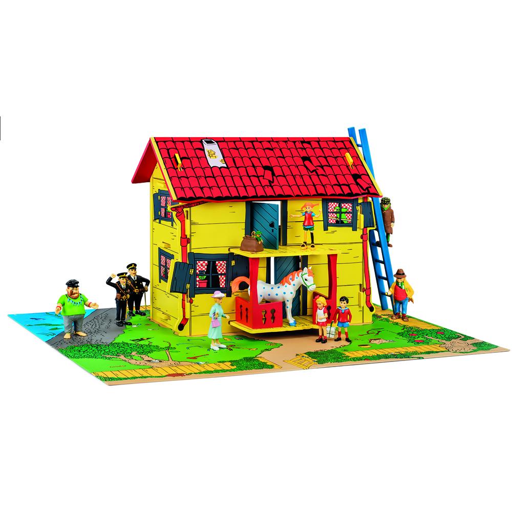 Pippi Huset Villakulla med figurer - Pippi Huset Villakulla med figurer