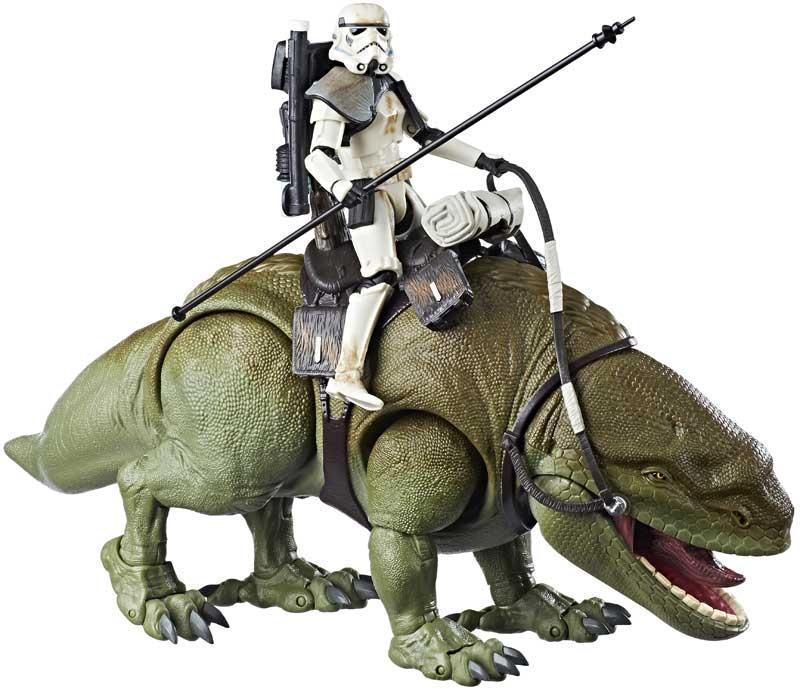 Star Wars Dewback og Sandtrooper figur - Star Wars Dewback og Sandtrooper figur