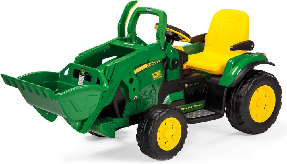 John Deere Ground Loader Elbil 12v - John Deere Ground Loader Elbil 12v